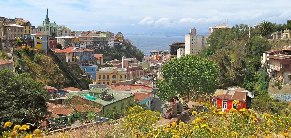 Panorama of Valparaiso, Chile